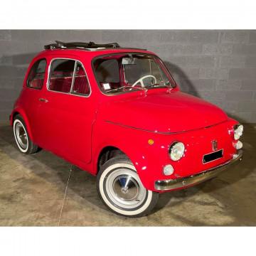 N° 4 - FIAT 500 (F) TOIT OUVRANT - 1971. Topolino !!! Cette Fiat a subi une restauration il y a plusieurs années. Elle roule très bien, freine sans soucis et démarre encore au 1/4 de tour ! Frais récent : 4 pneus neufs.